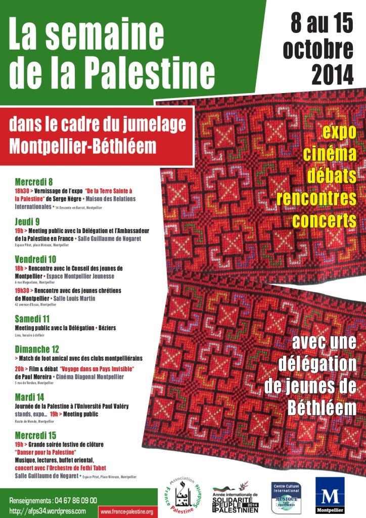 Semaine palestine