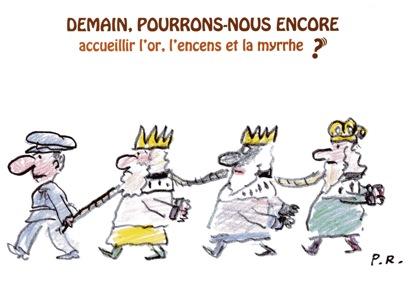 Chronique Cimade 63 pour  RCF du 12 décembre 2014 : Les Rois Mages sont des Étrangers !