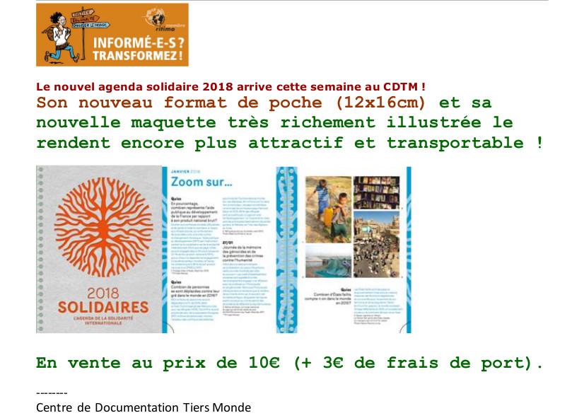 agenda solidaire 2017-1